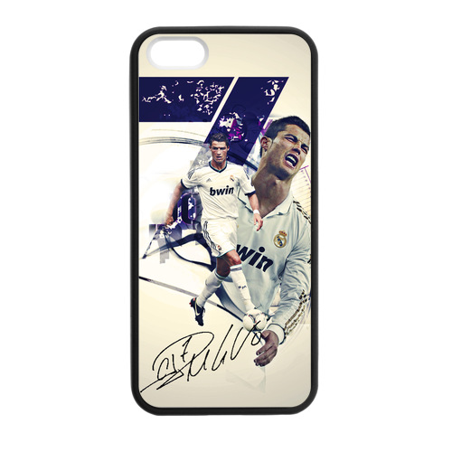 Cheap Cristiano Ronaldo Soccer Star Case for iPhone 5/5s Expensive(China (Mainland))