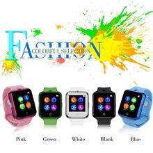 2016 Latest Health Bluetooth Smart Wrist Watch Phone V88 Smartwatch with GSM/GPRS SIM TF Card UV Test Heart Rate Pulse Measure