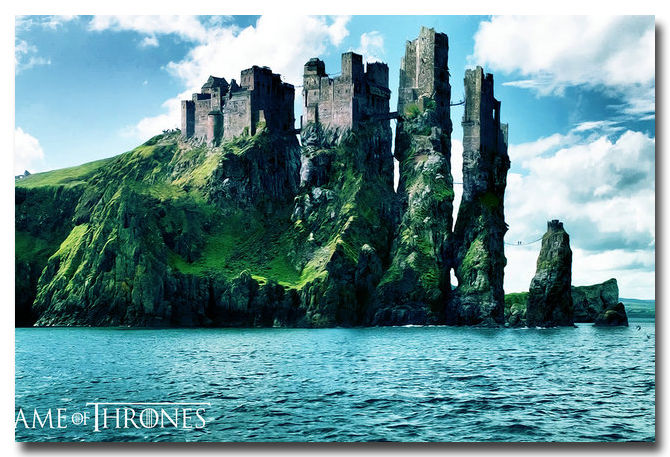 Game Of Thrones Season 5 TV Shows Silk Poster 13x20 inch Kinds Land Landscape(China (Mainland))