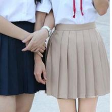 Girls Uniform Solid Pleated