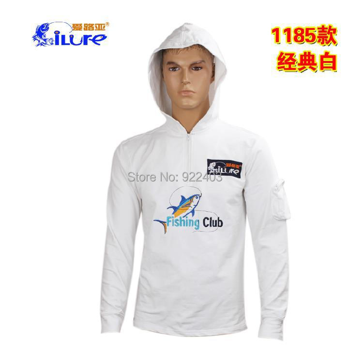 Free shipping Ilure 1185 fishing sun-protective clothing T-shirt 1185 Road and fishing clothing outdoor clothing hot sales(China (Mainland))