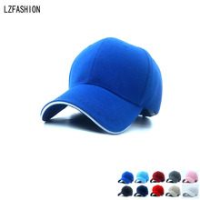 Wholesale Summer Style Baseball Cap Men Women Outdoor Sport Tennis Hiking Ball Caps Breathable Team Hat Customize 10 Colors(China (Mainland))