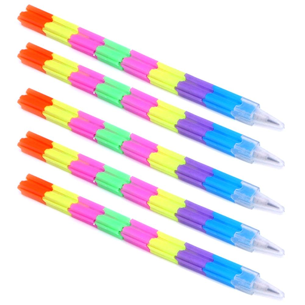 Rainbow Black/&White Wood Set Rainbow Pencils School Office Stationery Color Rf