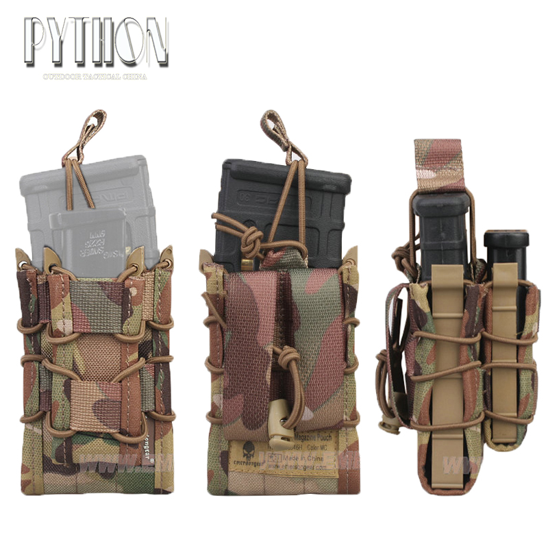 NEW Sinairsoft Emersongear Double Decker Magazine Pouch military army bag Utility Pouch MOLLE multicam/ black/OD/CB/KH/AT/AOR1(China (Mainland))