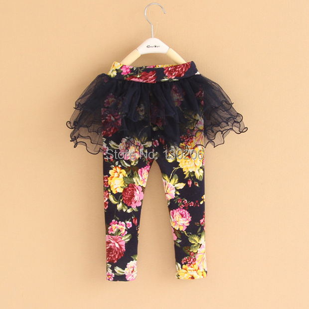Baby girls winter thick velvet leggings baby pants Korean version of veil bootspants feet children kids()