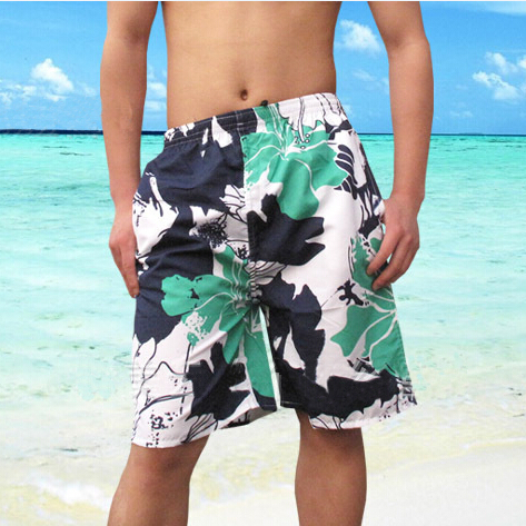 Best Price Hot Selling summer shorts men fashion seabeach swimwear men knee length and cropped trousers Free Shipping(China (Mainland))