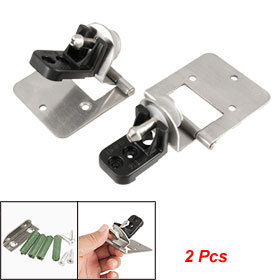 Wall to 4.8-6mm Thick Glass Adjustable Alloy Hinge 2 Pcs Free shipping(China (Mainland))