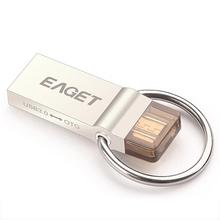 Eaget V90 Otg Usb Flash Drive 64GB Usb 3 0 Micro Usb Double Plug Smartphone Pen