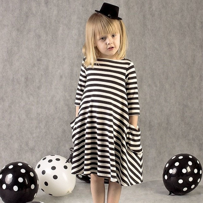 Hot Sale stripe Princess Dresses for Girls party wear Summer Smock 2-6yrs baby Girl Dress Children clothes toddler kids clothing(China (Mainland))