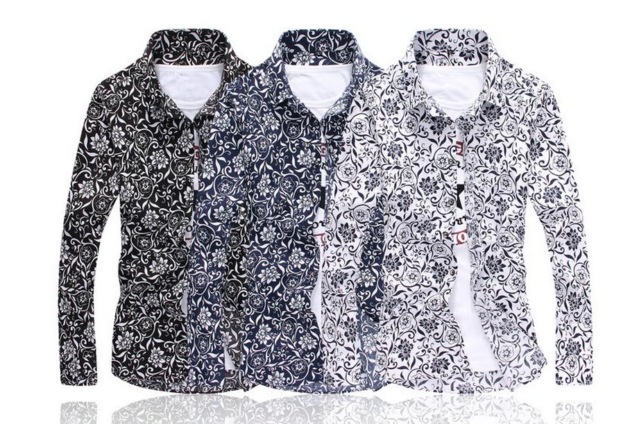 Мужская повседневная рубашка Other Slim Fit MensDress m/5xl 303 мужская повседневная рубашка other 2015 slim fit yd g812 anchors