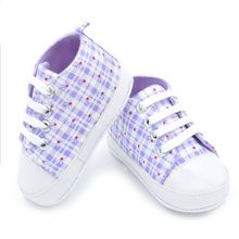 New High quality baby shoes girls boys  fashion rainbow canvas shoes soft prewalkers casual baby shoes(China (Mainland))
