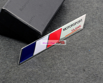 France national flag Emblems Badge Motor Sport Racing Sticker Rear For Peugeot Renault Citroen Free Shipping High Quality