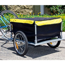 Bicycle With Cover Shopping Cart Carrier Tow Hauler Garden Bike Cargo Trailer convenient(China (Mainland))