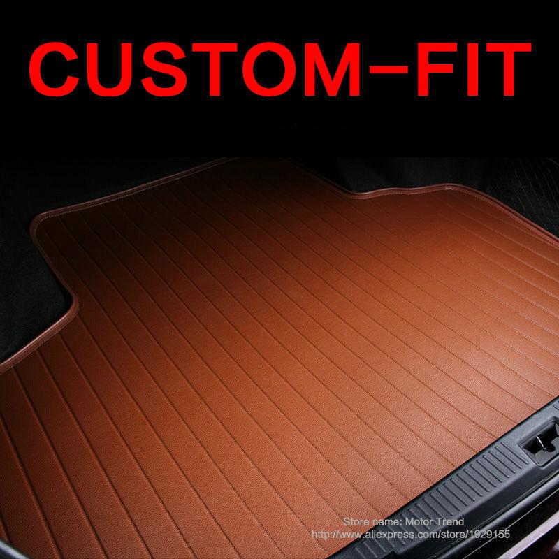 Custom fit автомобилей коврик багажного отделения для Nissan altima Руж X-trail Murano Sentra versa Sylphy Tiida 3D carstyling ковер грузового лайнера HB7