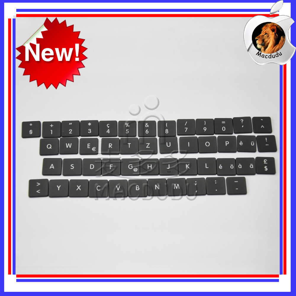 48pcs Keyboard Replacement Keys for 11 Macbook Air A1370 2011 Swiss Layout Used.<br><br>Aliexpress