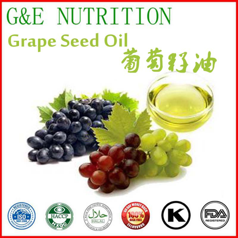 100%Pure Nutritional Grape Seed Oil by GMP Factory 1000g<br>