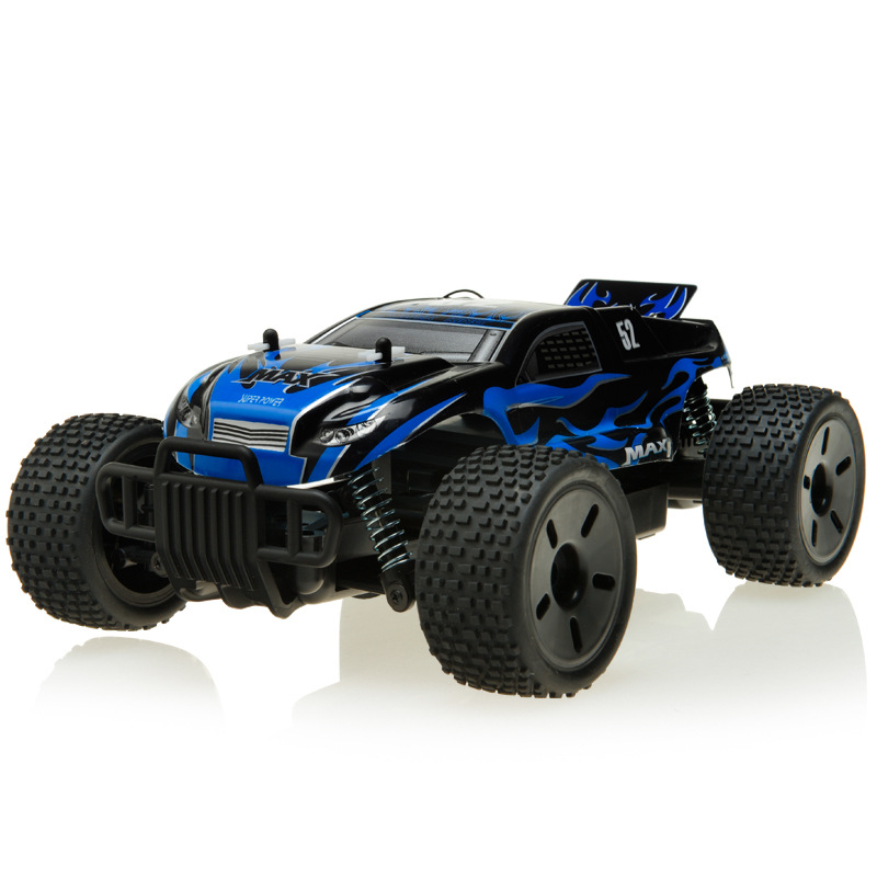 Racing 27mhz 25meters 15mins Large Rc Car Drift Off Road Rc Buggy Blue Cool Toy Cars For Children A2022964(China (Mainland))