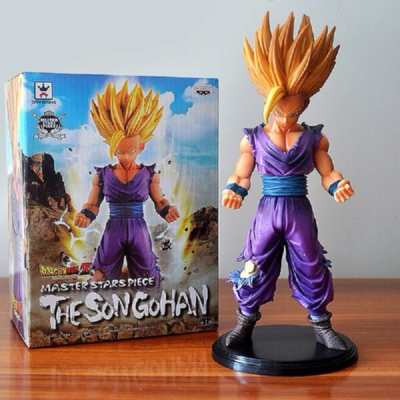 Anime Dragon Ball Z MSP 20cm Son Gohan Battle figurine Super Saiyan dragonball z brinquedos PVC Action Figure dbz hot toys dolls()