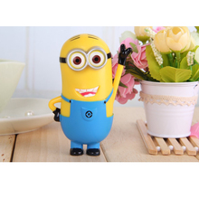 new External Backup Battery Charger Thief Daddy Despicable Me 2 Minion Doll 5200Mah Portable Power Bank charge for mobile phone(China (Mainland))