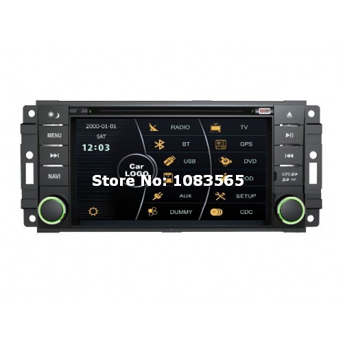 For Dodge Durango 2008 - 2010 Car GPS Navigation DVD Player With Radio TV Bluetooth WINCE 6.0 ARM11 Multimedia System(China (Mainland))