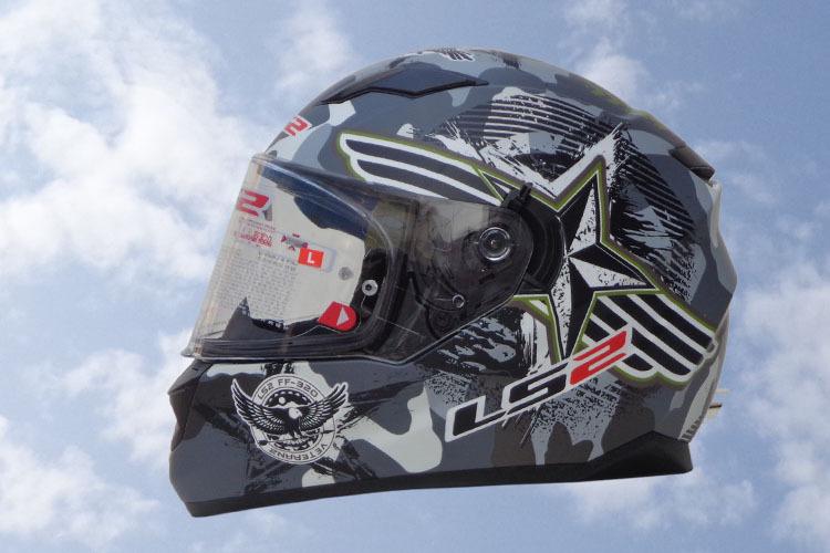 Free shipping 2015 New original LS2 ff320 motorcycle helmet with inner sun visor full face helmet flip up helmet with airbags