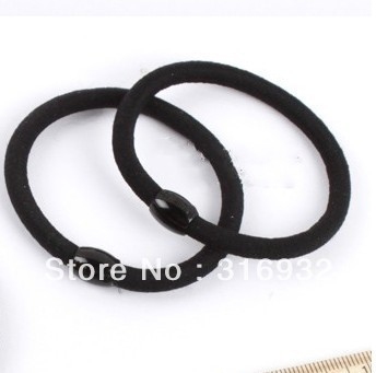 Hair accessory black velvet hair rope, 50pcs/lot