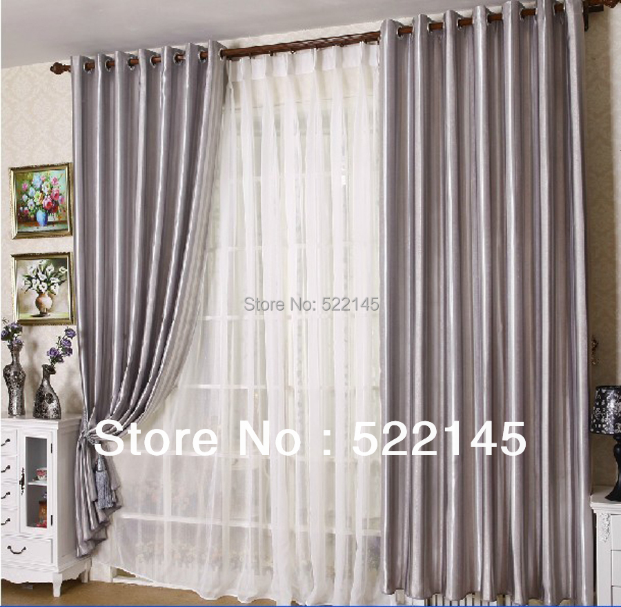 Free Shipping Good Quality Luxury Jacquard Blackout Curtain Fabric In Curtains From Home