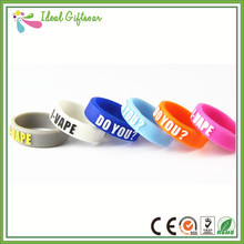 Wholesale silicone rings high quality colorful personalized silicone vape band with company logo printing(China (Mainland))