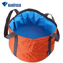 Buy New Brand Bluefield 11L Ultra-light Portable Outdoor Water Bag 3 Color Folded Washbowl Camping Equipment Outdoor Sport Accessory for $4.70 in AliExpress store