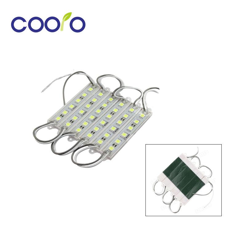 100PCS 5050 6 LED Module lighting DC12V Waterproof  led modules,White / Warm white / Red / Green / Blue color,20PCS/lot<br><br>Aliexpress