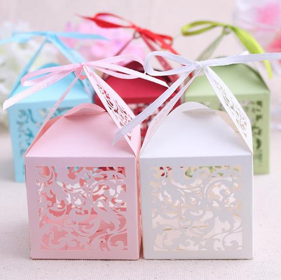 Baby Shower Favors China ~ Chinese style decoupage laser cut birdcage wedding favor