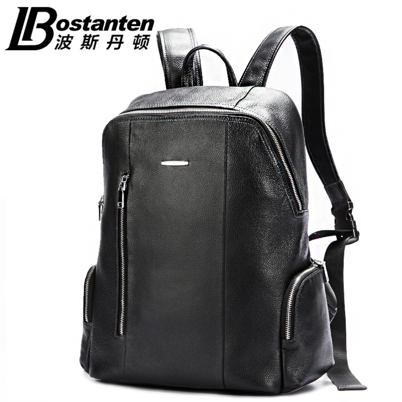 2015 NEW Bostanten man bag leather shoulder for business and leisure travel backpack computer shoulder bag man bag B60061(China (Mainland))