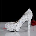 2015 bling luxury wedding shoes white high heeled shoes the bride wedding dress formal dress wedding