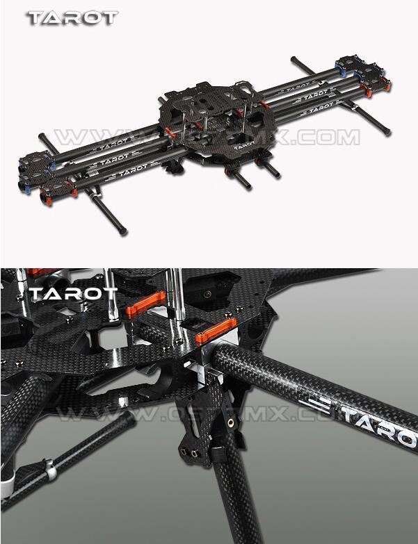 Quadcopter Рамка Таро 3 K Все углерода металла складной Тип Hexacopter Основной комплект 64