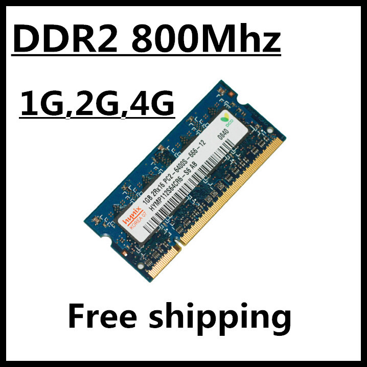promotion ddr2 ram 1gb 2gb 4gb 800Mhz pc2-6400 so-dimm laptop, memory ram ddr2 2gb 4gb 800mhz pc2 6400, ram ddr2 2gb 800 sdram(China (Mainland))