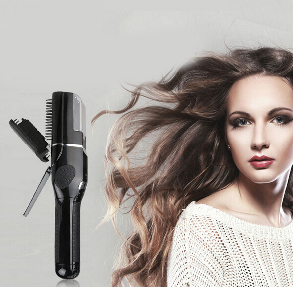 Фотография Hot Electric hair trimmer wireless charging Pro Cordless Split Hair Clipper Shavers Styler Tool hair beauty products