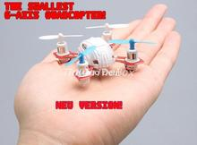 New Version MoonTop M9911 2.4G 4CH 6 Axis GYRO Nano RC Quadcopter RTF RC Helicopter