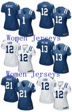 High-quality T.Y. Hilton,Andrew Luck,Donte Moncrief,Pat McAfee,Gore,Johnny Unitas,josh ROBINSON For women colt(China (Mainland))