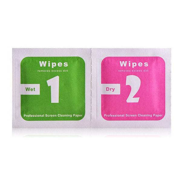 Wet+Dry Camera Lens LCD Screens Dust Removal Wet Dry Cleaning Cloth Wipes Papers for camera for phone(China (Mainland))