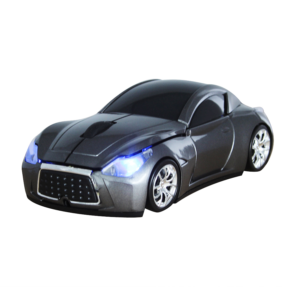 New Fashion Infiniti Sports Car 2.4GHz Wireless Mouse Car Mause 1600DPI Optical Gaming Mouse Mice for Computer PC free shipping(China (Mainland))