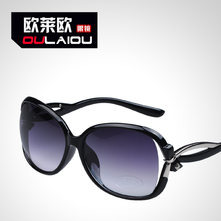 2015 new women's sunglasses sunglasses lady 2238 major suit hollow anti UV Sunglasses Glasses toad(China (Mainland))