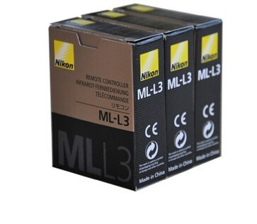 ML-L3 MLL3 Wireless Camera Shutter Remote Control For Nikon DSLR V2 J2 J3 D90 D3200 D7100 D7000 D5300 D5200 D300 D610 D600(China (Mainland))