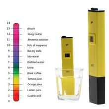 Buy Pocket Pen Water PH Meter Digital Tester pH 0.0-14.0pH Aquarium Pool Water Laboratory Measurement Tool Yellow T0.16 for $10.43 in AliExpress store