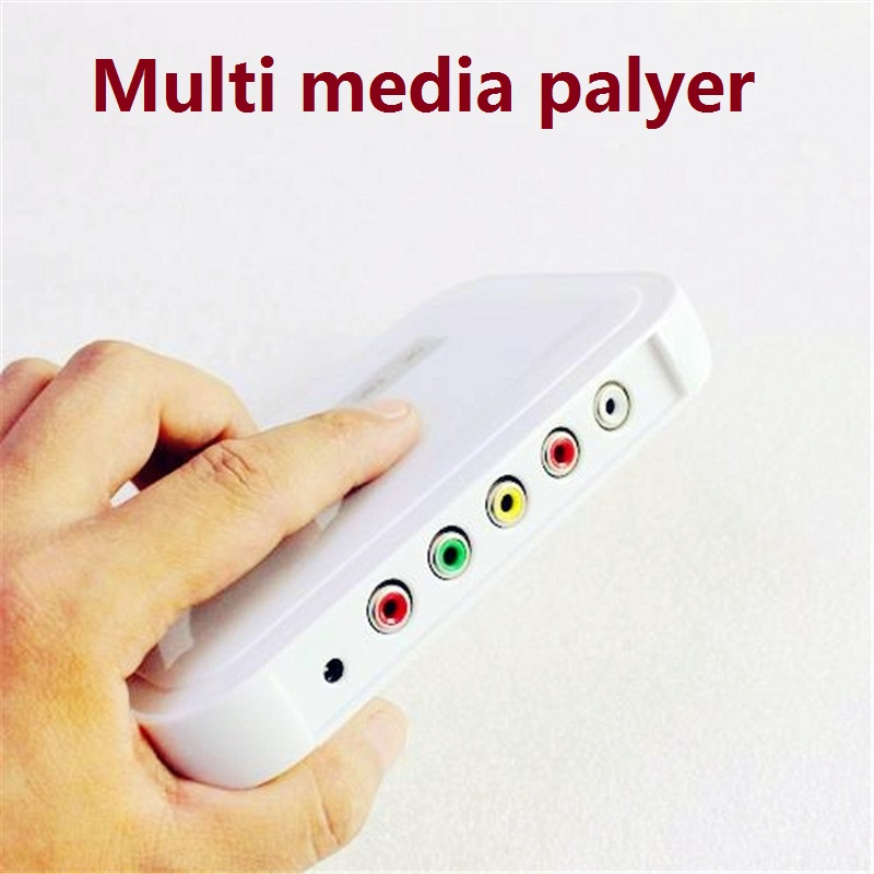 Digital Media Player NBOX HDTV SD/MMC Card Flash Hard Drive Disk Media Player Video player with remote control in retail package(China (Mainland))