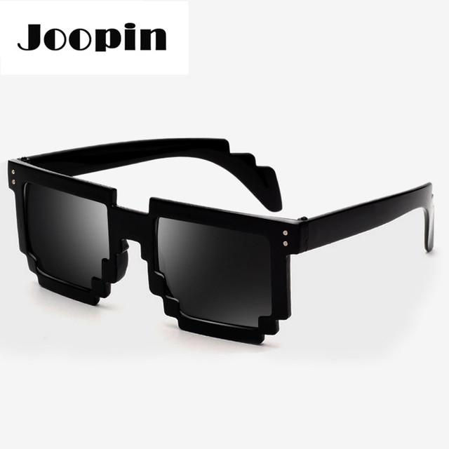2016 мозаики солнцезащитные очки мужчины стимпанк очки женщин модной квадратных солнцезащитные ...