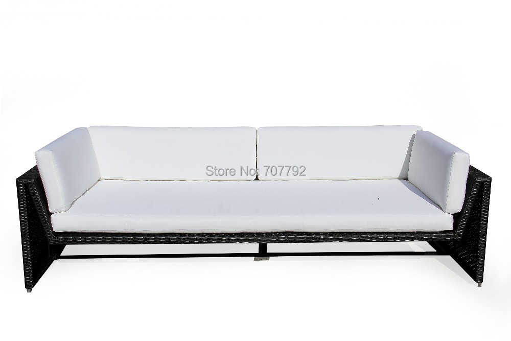 NEW!! 2015 Modern Style SG-259A outdoor rattan sofa bed(China (Mainland))