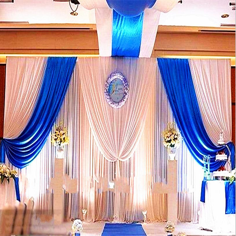 popular blue and white backdrop wedding buy cheap blue and