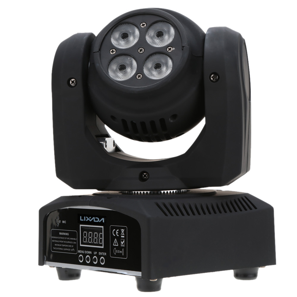 Beam Wash 5LED 50W RGBW 15/21 Channel DMX 512 Rotating led spot Moving Head LED Stage Light Lamp for Disco KTV Club Double Sides(China (Mainland))