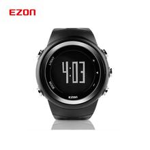 2015 EZON hombres del reloj Digital podómetro corriendo caminando exterior velocidad reloj deportivo calorías a poca distancia del reloj a prueba de agua / T023