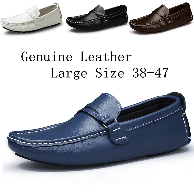 Men loafers Fashion Shoes Summer Cool Winter Warm Leather Shoes Men's Flats Shoes Low Mens casual Oxford Shoe for Men651-4